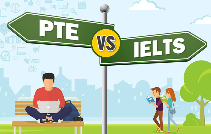 4 Hours KNOW THE MAIN DIFFERENCE BETWEEN IELTS AND PTE